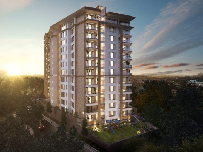Rosewood Park Apartments In Kilimani