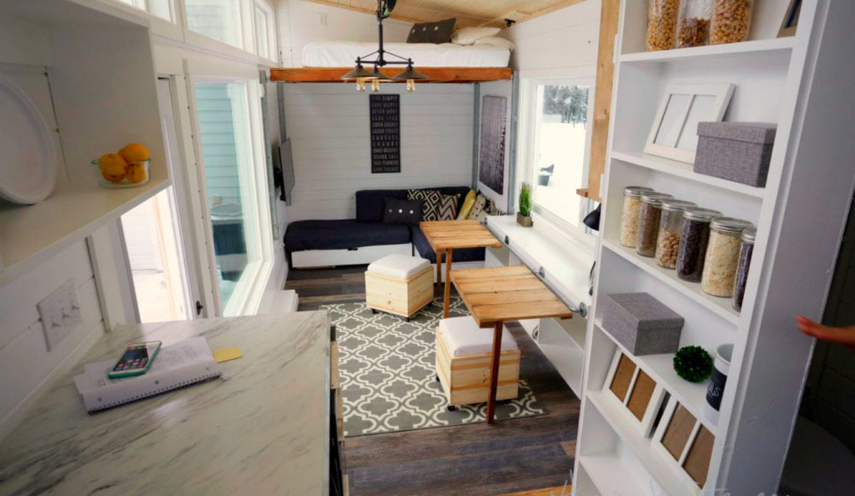 How to make the most of your small living space