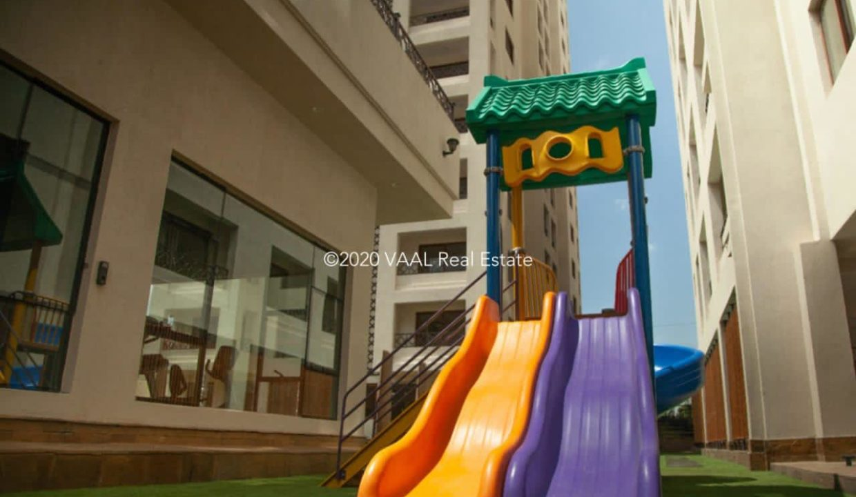 Moon Valley Apartments Kids Playing Area Slide