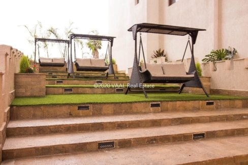 Moon Valley Outdoor Swing Seats On Stairs