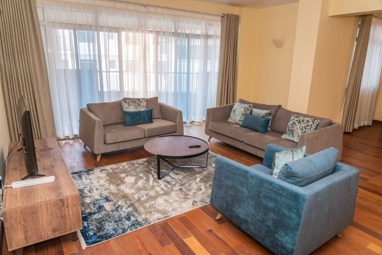 Furnished & Serviced 3 Bed in Lavington