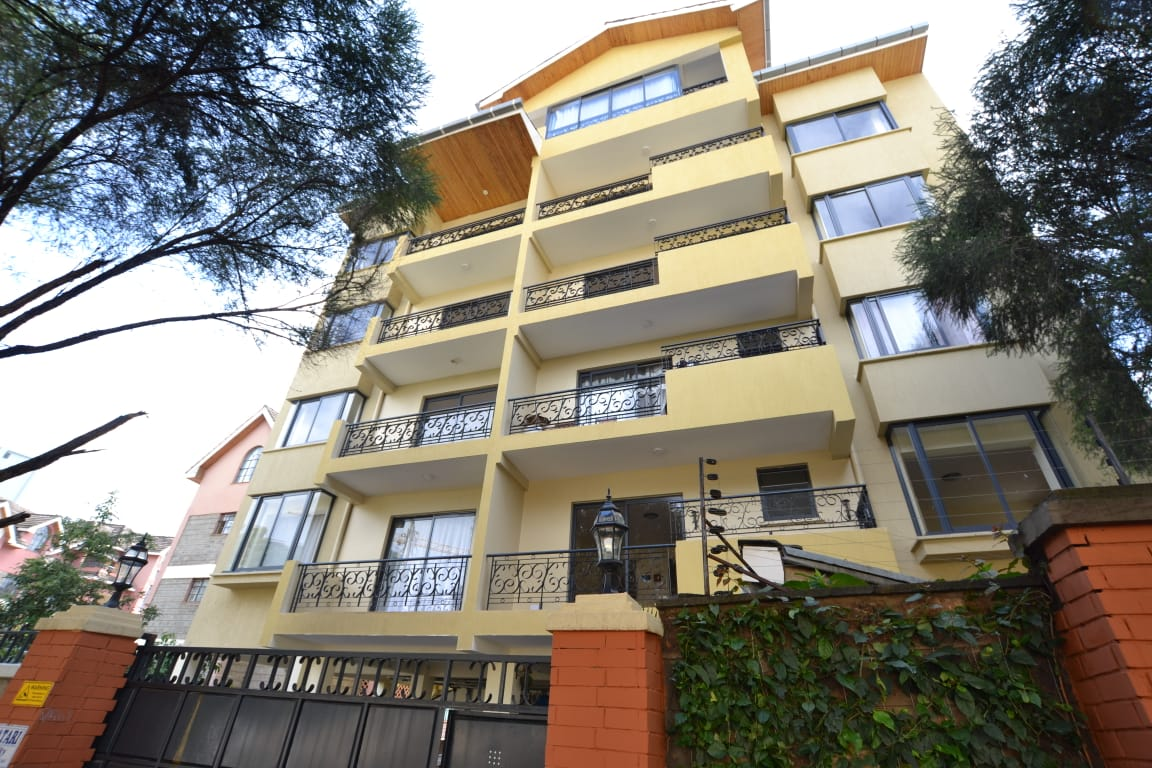 Furnished & Serviced 1 Bed in Kileleshwa